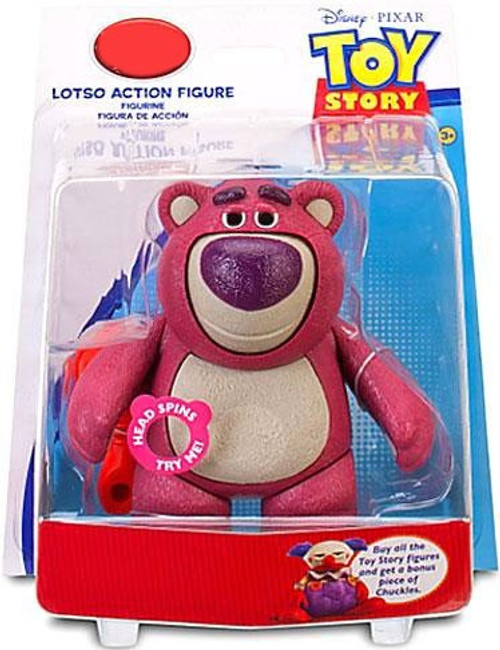 Disney Toy Story Chuckles Build a Figure Lotso Exclusive Action Figure