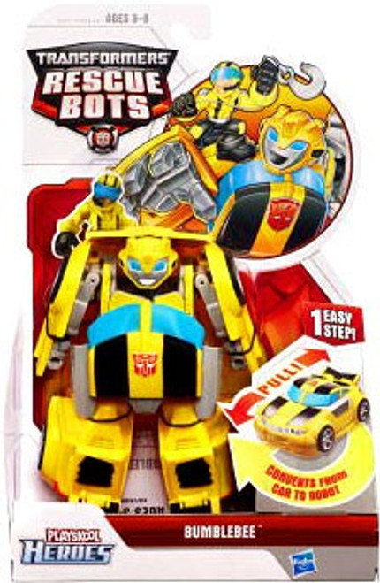 Transformers Playskool Heroes Rescue Bots Bumblebee Action Figure
