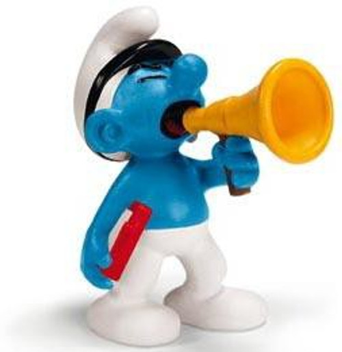 The Smurfs Film Producer Smurf Mini Figure