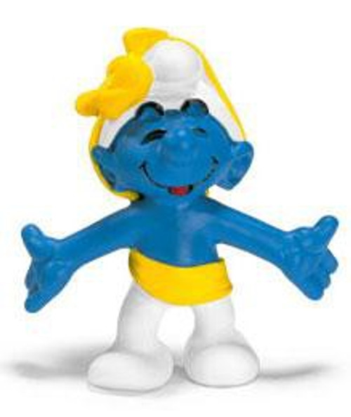 The Smurfs Anniversary Smurf Mini Figure