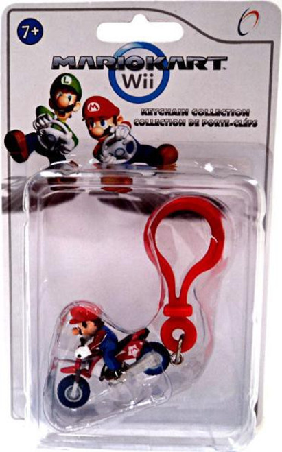 Super Mario Mario Kart Wii Mario Keychain [Motorcycle]