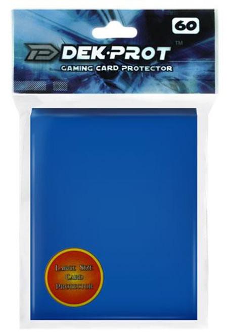 Card Supplies Gaming Card Protectors Ocean Blue Standard Card Sleeves [60 Count]