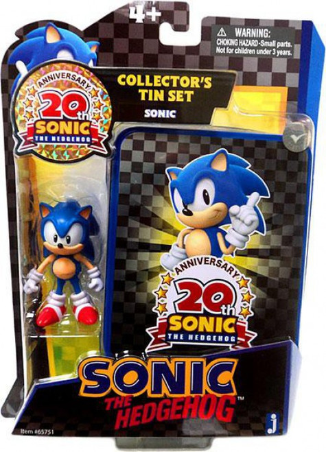 Sonic The Hedgehog 20th Anniversary Sonic Action Figure [Collector's Tin Set]