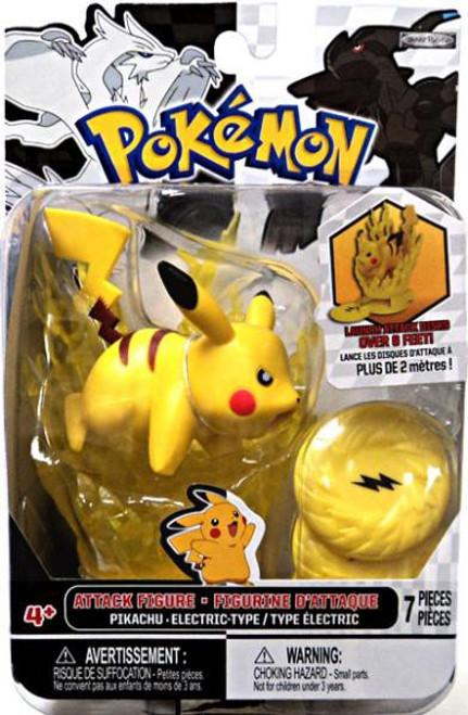 Pokemon Black & White Series 2 Attack Pikachu Figure