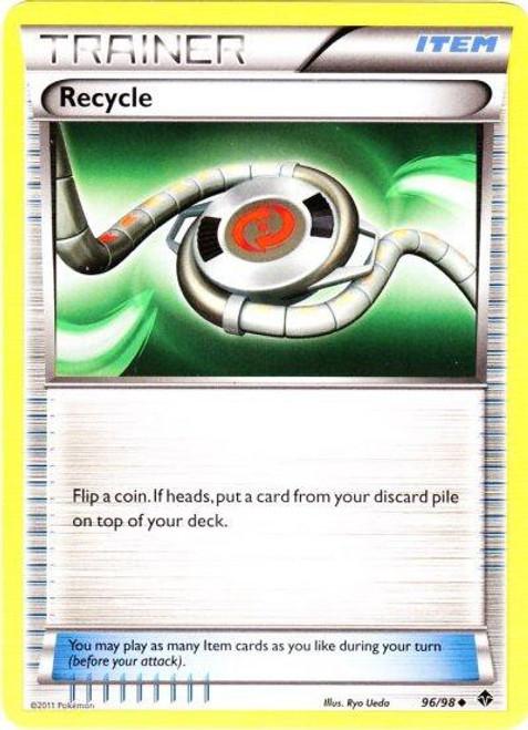 Pokemon Black & White Emerging Powers Uncommon Recycle #96