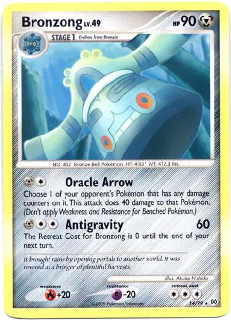 Pokemon Trading Card Game Platinum Arceus Rare Bronzong #14