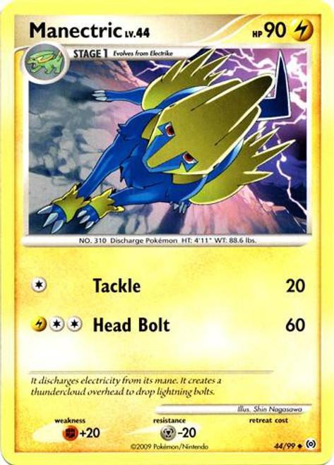 Pokemon Trading Card Game Platinum Arceus Uncommon Manectric #44