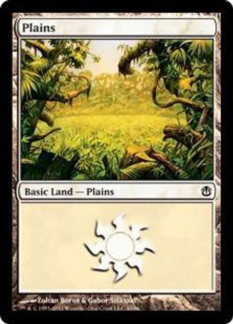 MtG Duel Decks: Ajani vs. Nicol Bolas Land Plains #40