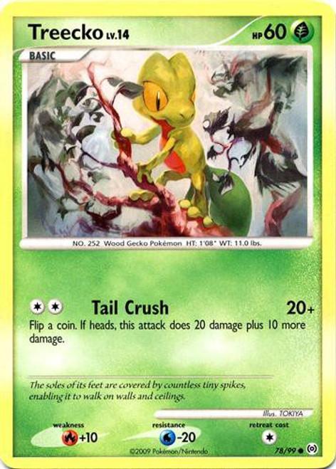 Pokemon Trading Card Game Platinum Arceus Common Treecko #78