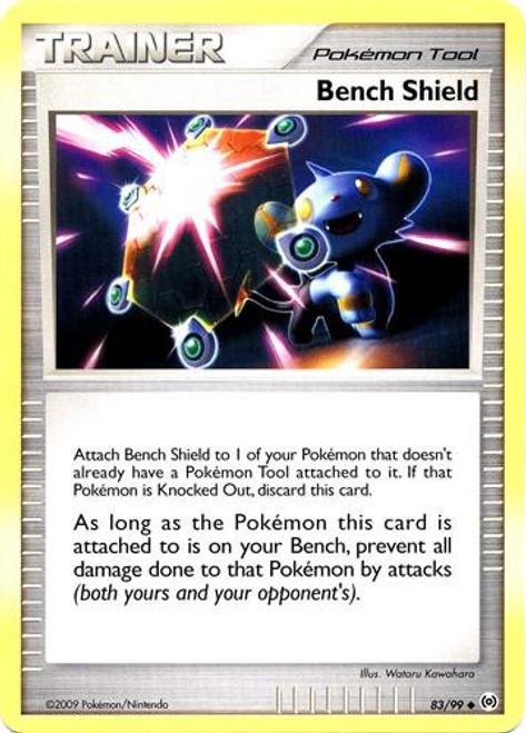 Pokemon Trading Card Game Platinum Arceus Uncommon Bench Shield #83