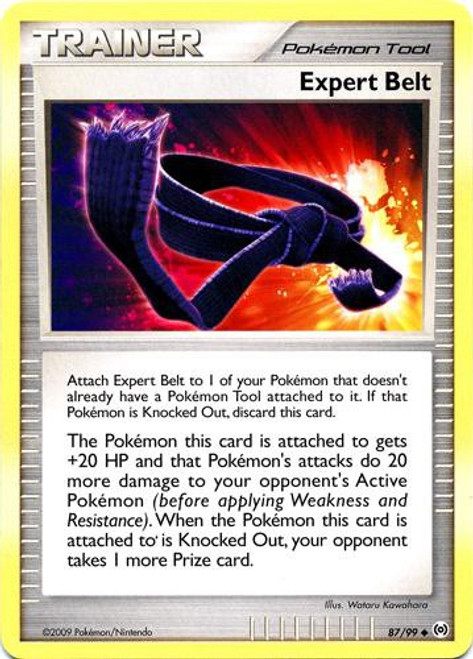 Pokemon Trading Card Game Platinum Arceus Uncommon Expert Belt #87
