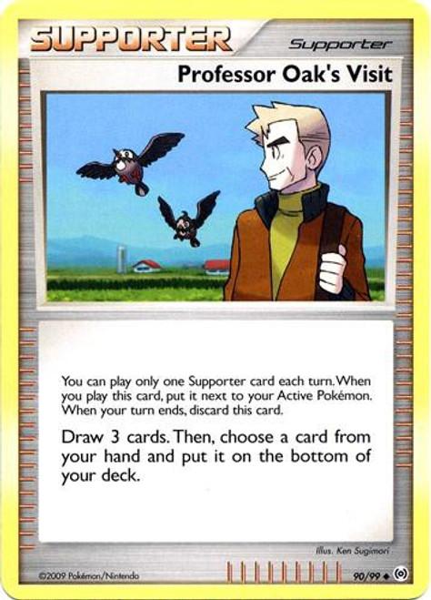 Pokemon Trading Card Game Platinum Arceus Uncommon Professor Oak's Visit #90