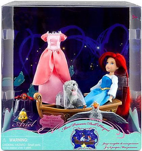 Disney Princess The Little Mermaid Ariel Mini Princess Exclusive Doll Set