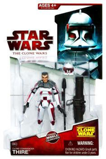 Star Wars The Clone Wars 2009 Commander Thire Action Figure CW32