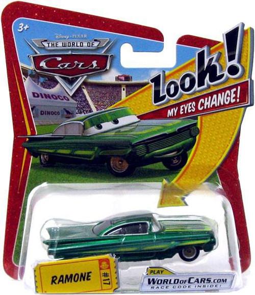 Disney / Pixar Cars The World of Cars Lenticular Eyes Series 1 Ramone Diecast Car [Green]
