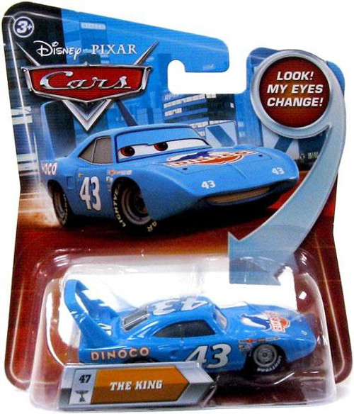 Disney / Pixar Cars Lenticular Eyes Series 2 The King Diecast Car