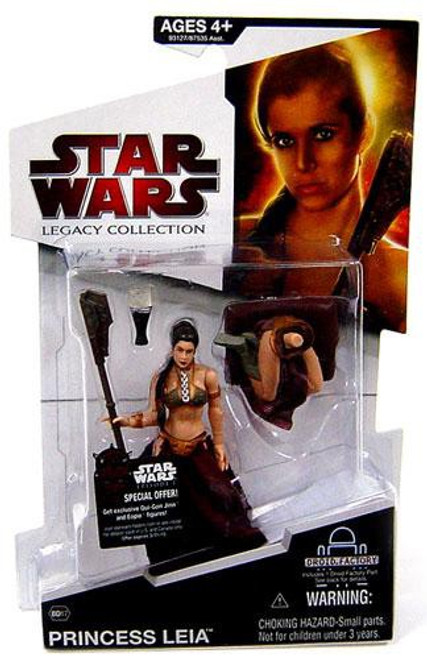 Star Wars Return of the Jedi 2009 Legacy Collection Droid Factory Princess Leia Action Figure BD17 [Jabba's Slave]