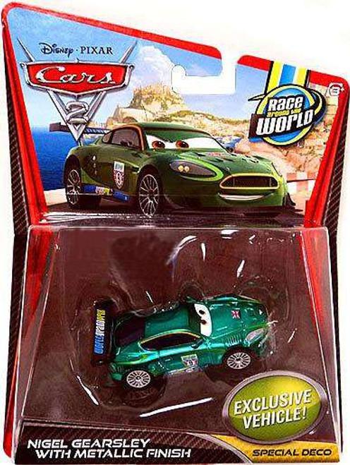 Disney / Pixar Cars Cars 2 Main Series Nigel Gearsley with Metallic Finish Exclusive Diecast Car
