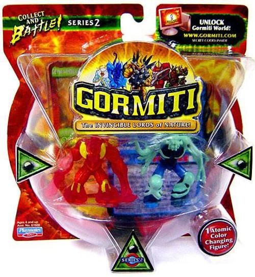 Gormiti Series 2 Steelblade the Cutthroat & Multiplep Mini Figure 2-Pack [RANDOM Colors]