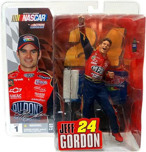 McFarlane Toys NASCAR Series 1 Jeff Gordon Action Figure [No Hat/Glasses]