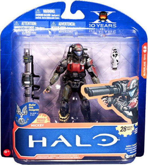 McFarlane Toys Halo 3: ODST 10th Anniversary Series 2 Mickey Action Figure