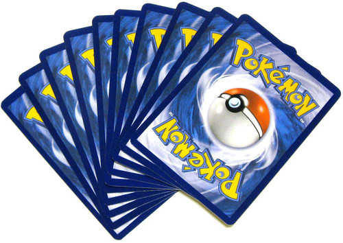 Pokemon Trading Card Game 10-Card Custom Rare Lot