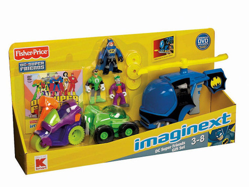 Fisher Price Imaginext DC Super Friends Gift Set Exclusive 3-Inch Figure Set