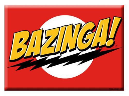 The Big Bang Theory Bazinga Magnet