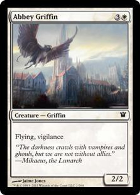MtG Innistrad Common Abbey Griffin #1