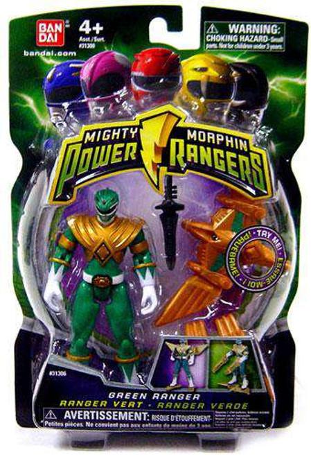 Power Rangers Mighty Morphin 2009 Green Ranger Action Figure