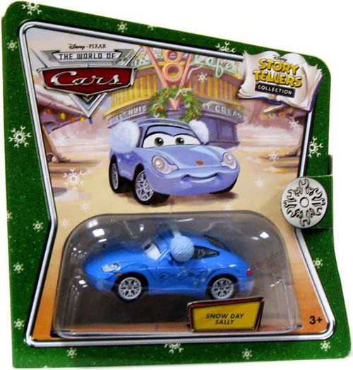 Disney / Pixar Cars The World of Cars Story Tellers Snow Day Sally Diecast Car