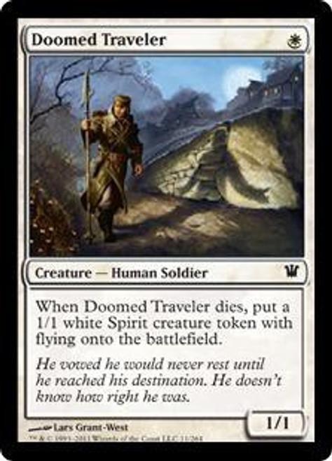 MtG Innistrad Common Doomed Traveler #11