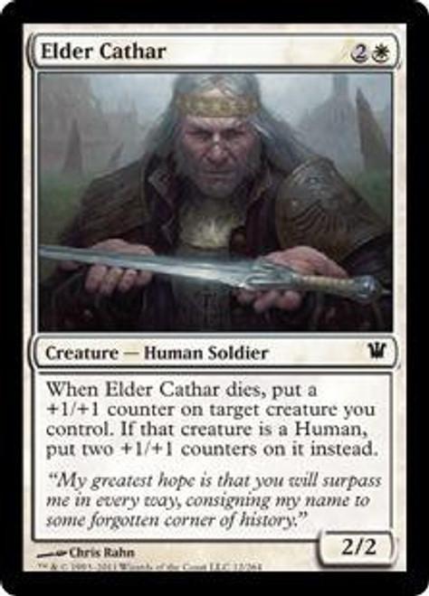 MtG Innistrad Common Elder Cathar #12