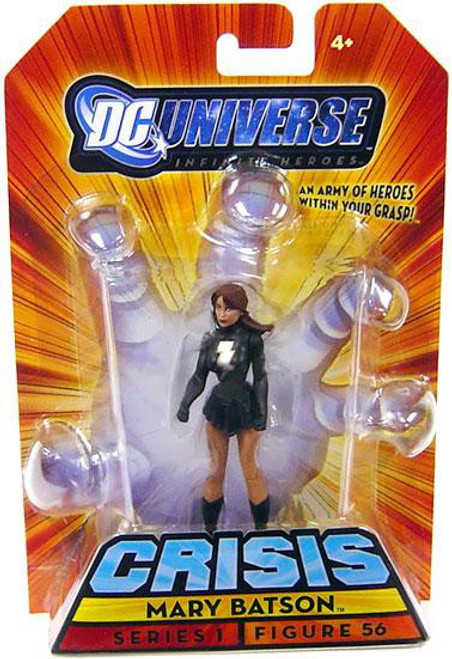 DC Universe Crisis Infinite Heroes Series 1 Mary Batson Action Figure #56