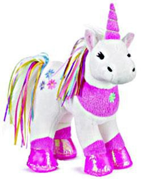 Webkinz Ribbon Unicorn Plush
