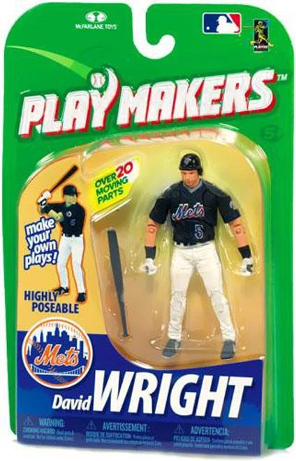 McFarlane Toys MLB New York Mets Playmakers Series 1 David Wright Action Figure [Batting]