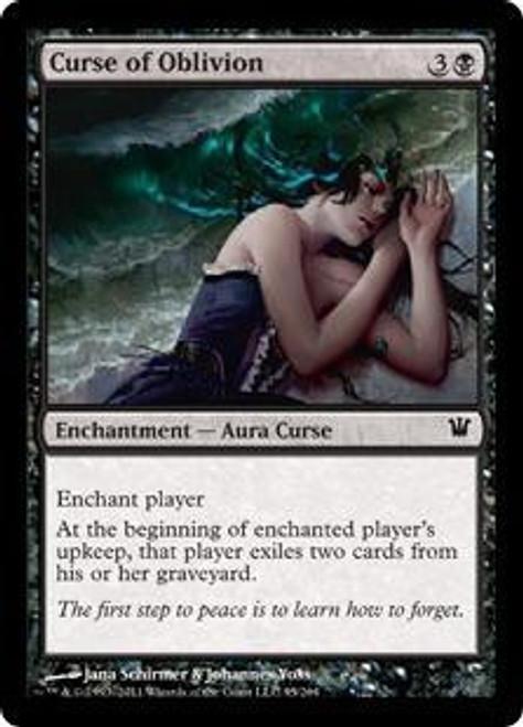 MtG Innistrad Common Curse of Oblivion #95