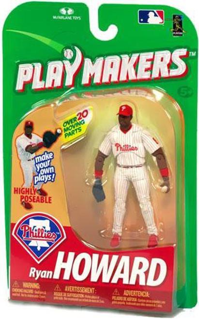 McFarlane Toys MLB Philadelphia Phillies Playmakers Series 1 Ryan Howard Action Figure [Fielding]
