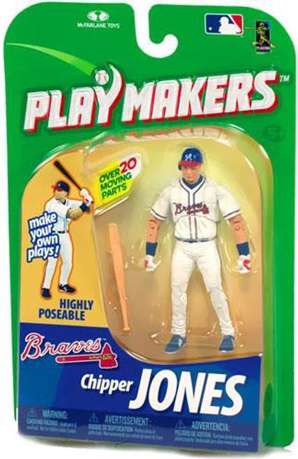 McFarlane Toys MLB Atlanta Braves Playmakers Series 1 Chipper Jones Action Figure [Batting]