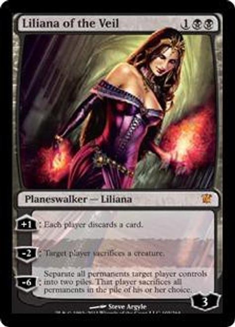 MtG Innistrad Mythic Rare Liliana of the Veil #105