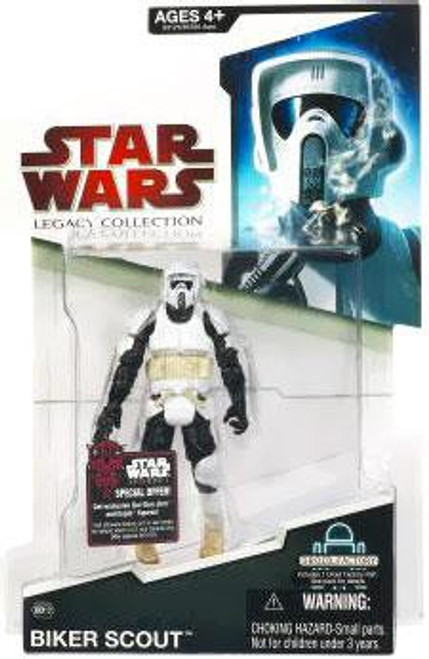Star Wars Return of the Jedi 2009 Legacy Collection Droid Factory Biker Scout Action Figure BD12