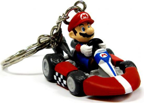 Super Mario Mario Kart Wii Volume 1 Mario Keychain [Kart]