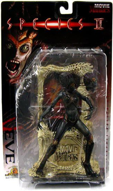 McFarlane Toys Species II Movie Maniacs Series 1 Eve Action Figure [Curved Breasts]