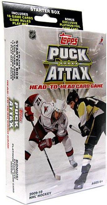 NFL Topps 2009 NHL Puck Attax Starter Box