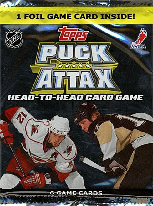 NFL Topps 2009 NHL Puck Attax Booster Pack