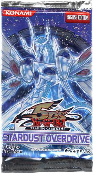 YuGiOh Trading Card Game Stardust Overdrive Booster Pack [9 Cards]