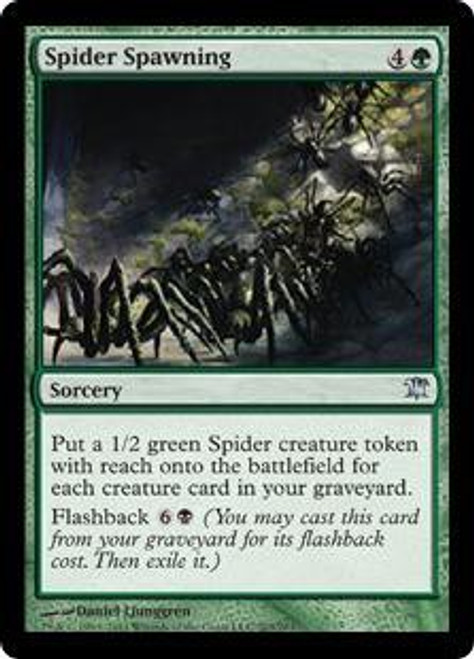 MtG Innistrad Uncommon Spider Spawning #203