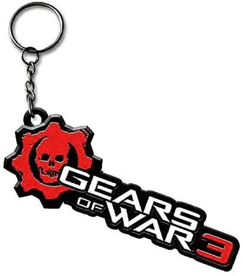 NECA Gears of War 3 Logo Keychain [Metal]