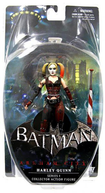 Batman Arkham City Series 1 Harley Quinn Action Figure