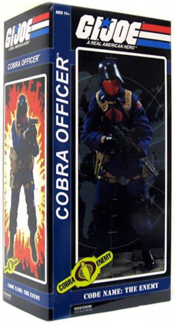 GI Joe Cobra Enemy Cobra Officer Collectible Figure